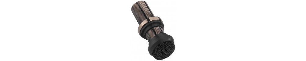 Built-in microphones and accessories
