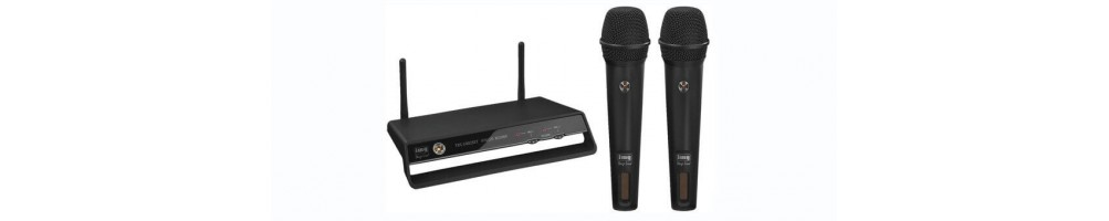 Radio microphones and audio systems