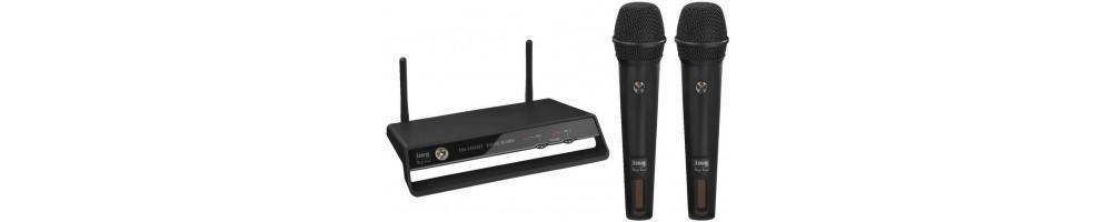 Registration-free radio microphones