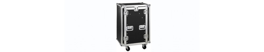 Flightcase, rack and accessories