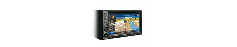 In-Dash Car GPS Navigation