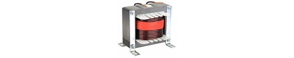 Transformer and Ferrite core coil