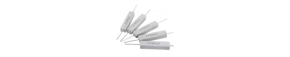 High-load cement resistors